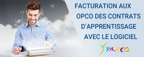 Facturation OPCO contrat d'apprentissage avec le logiciel YPAREO pour organisme de formation professionnelle