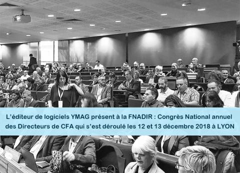 logiciels pour organisme de formation societe YMAG - FNADIR 2018 - directeurs de CFA