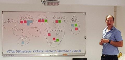 club utilisateur organisme de formation du sanitaire et social travaillant avec le logiciel de gestion YPAREO