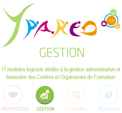 ypareo gestion - logiciel gestion administrative et financiere centre de formation - solution ymag